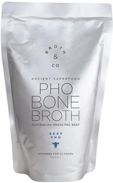 Broth & Co Beef Pho Bone Broth Liquid 500ml