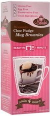 Melindas Choc Fudge Mug Brownie Pre-Mix G/F 200g