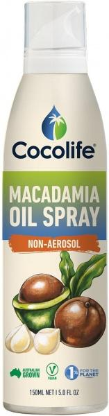 Cocolife Macadamia Oil Spray Non-Aerosol G/F 150ml