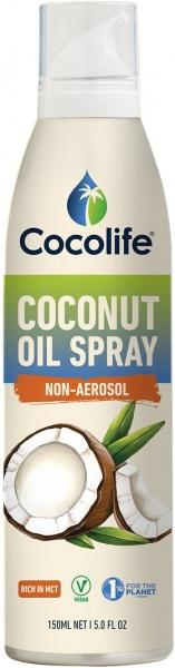 Cocolife Coconut Oil Spray Non-Aerosol G/F 150ml