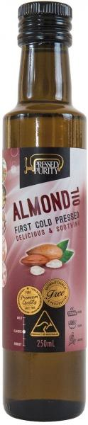 Pressed Purity Almond Oil G/F 250ml