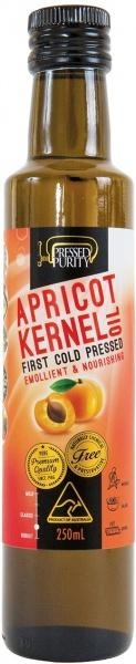 Pressed Purity Apricot Kernel Oil G/F 250ml