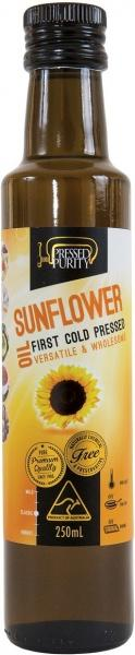 Pressed Purity Sunflower Oil G/F 250ml