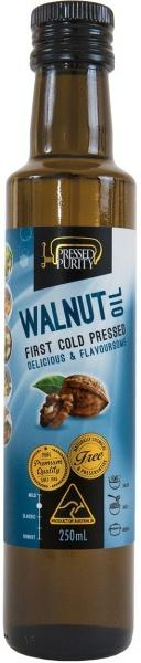 Pressed Purity Walnut Oil G/F 250ml