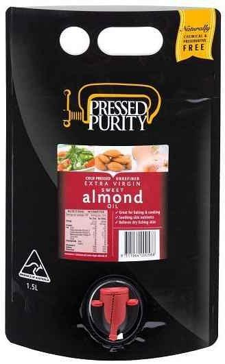Pressed Purity Almond Oil G/F 1.5L