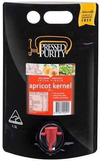 Pressed Purity Apricot Kernel Oil G/F 1.5L