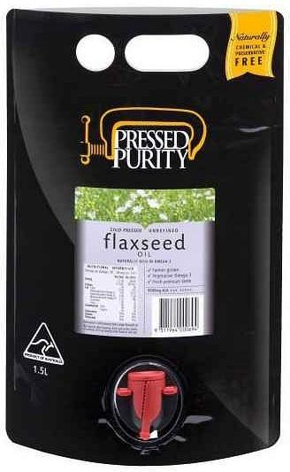 Pressed Purity Flaxseed Oil G/F 1.5L
