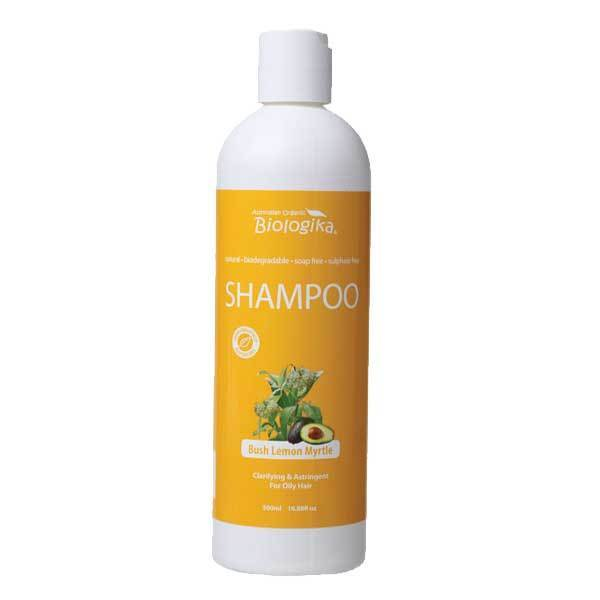 BIOLOGIKA Shampoo Bush Lemon Myrtle (Oily Hair) 500ml