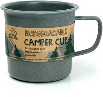 EcoSouLife Bamboo Camper Cup Charcoal 430ml