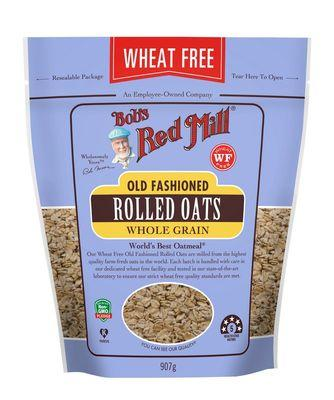 Bob`s Red Mill Rolled Oats Pure Wheat Free 907g x 4 BULK BUY