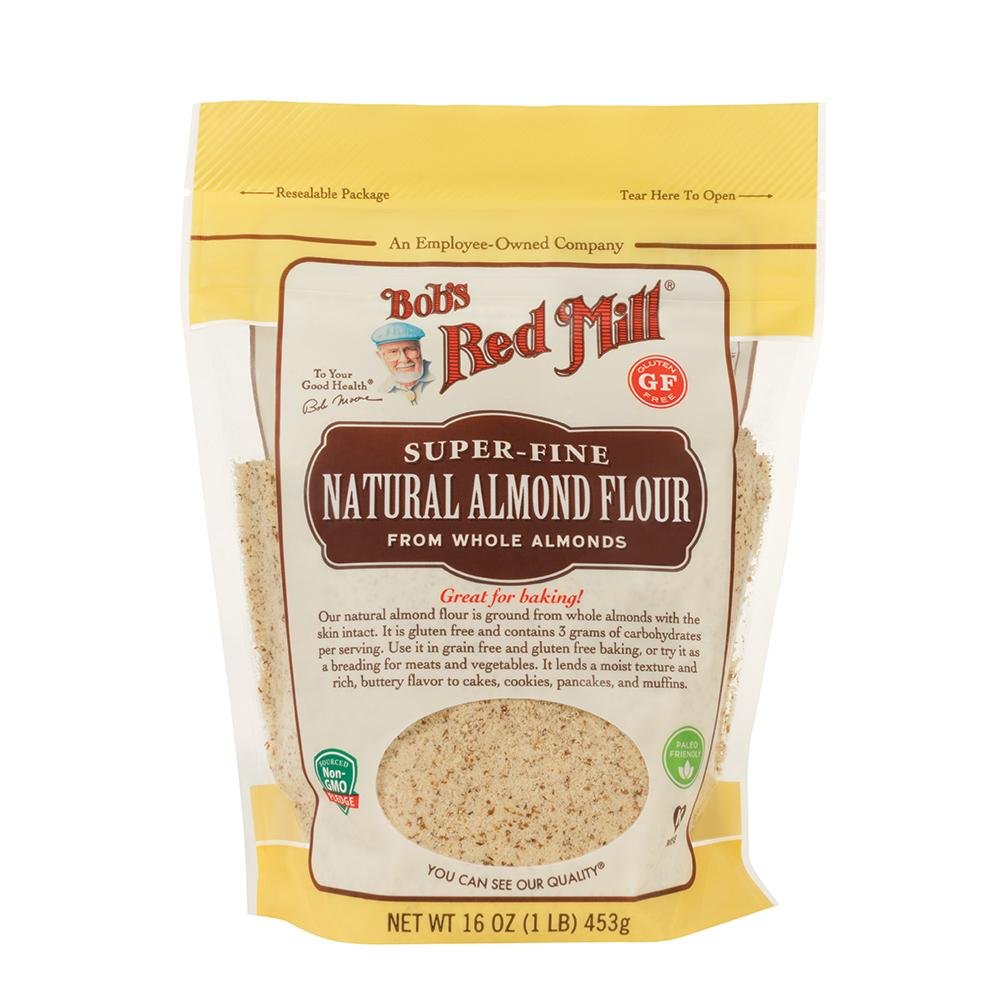 BOB'S RED MILL Gluten Free Almond Flour Natural 453g