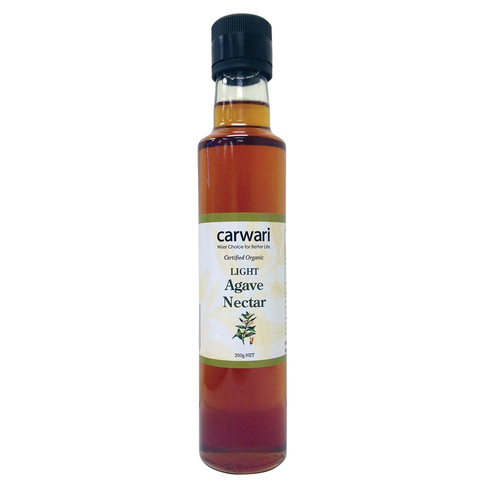 CARWARI Organic Agave Nectar Light 350g