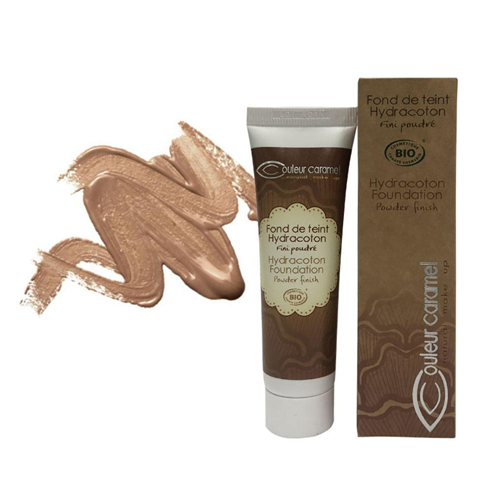 COULEUR CARAMEL Hydracoton Foundation Honey (16)