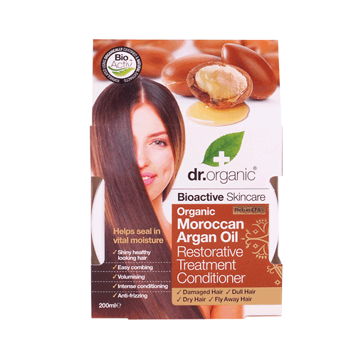 DR ORGANIC Restorative Conditioner Organic Moroccan Argan Oil 200ml
