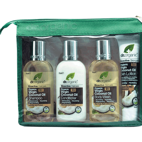DR ORGANIC Mini Travel Pack Organic Virgin Coconut Oil 4