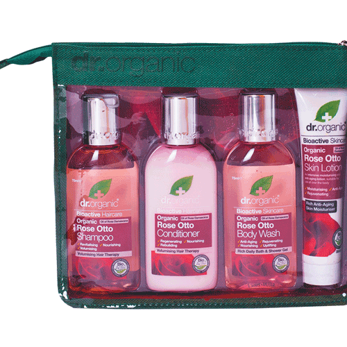DR ORGANIC Mini Travel Pack Organic Rose Otto 4