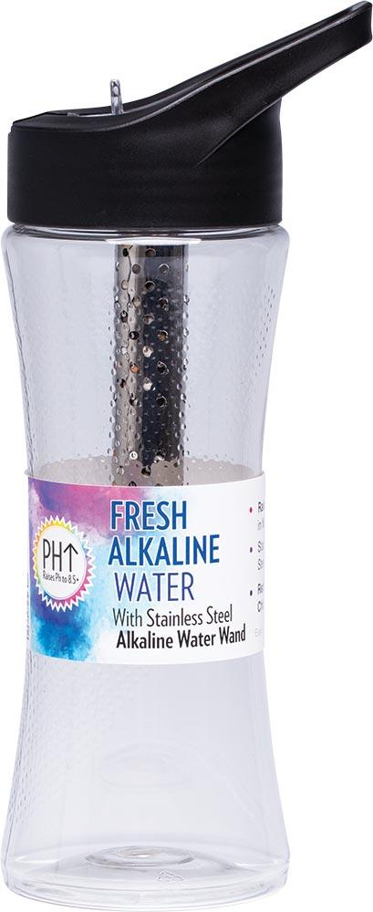 Enviro Products Alkaline Water Bottle With S/Steel Alkaline Water Wand