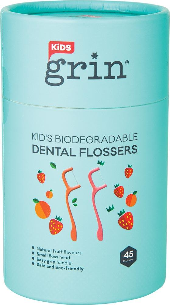 Grin Biodegradable Dental Flossers Kid's