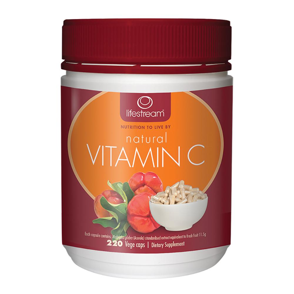Lifestream Natural Vitamin C 220c