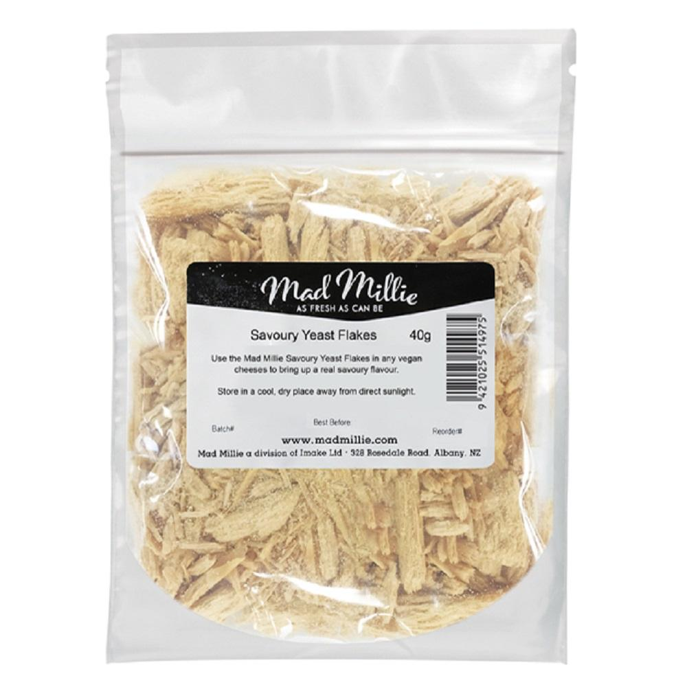 MAD MILLIE Savoury Yeast Flakes (for Vegan Cheese Kit) 40g