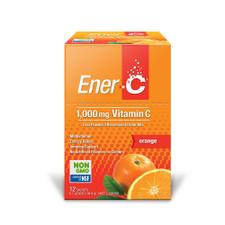 MARTIN & PLEASANCE Ener-C 1000mg Vitamin C Drink Mix Orange Sachet 8.7g x 12 Pack