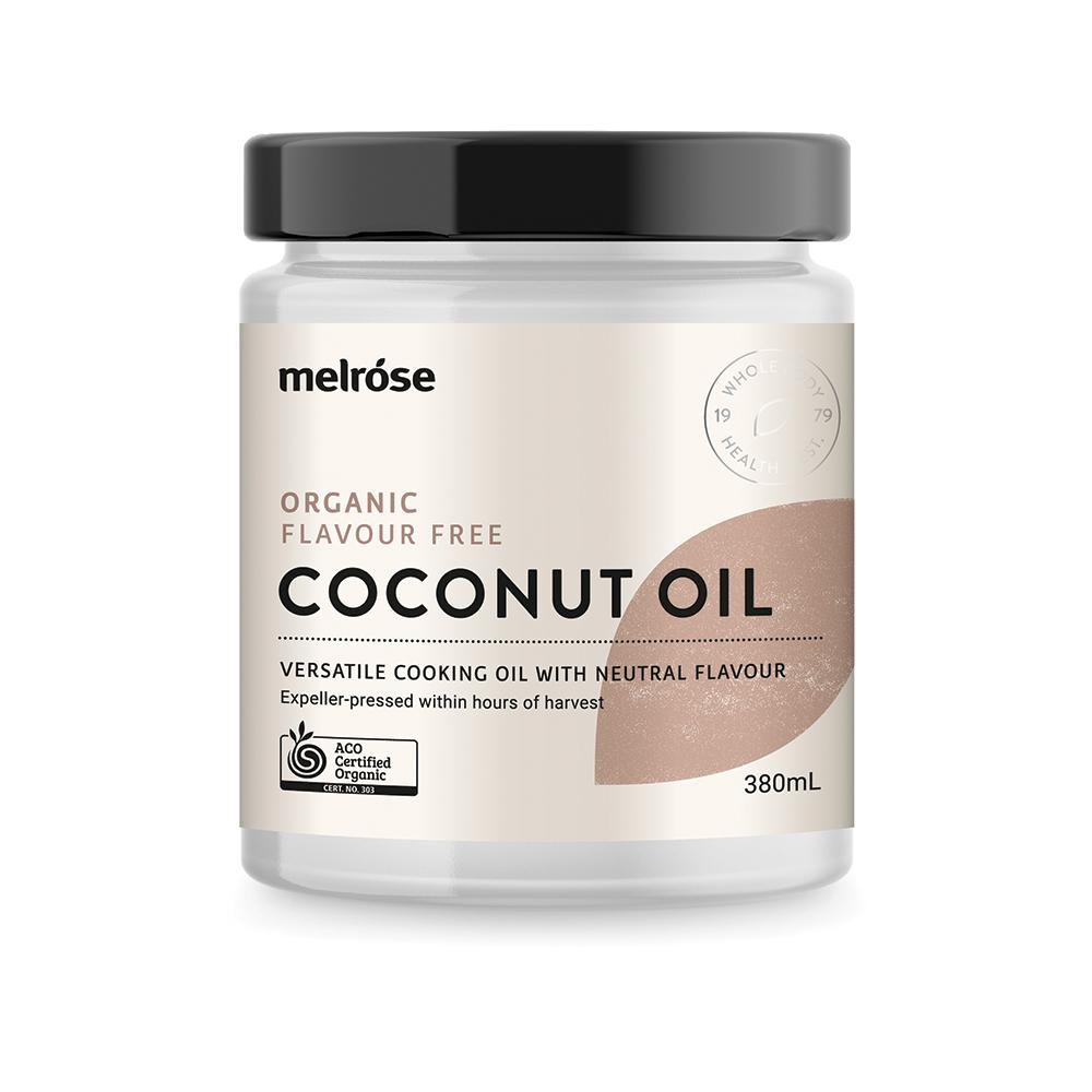 MELROSE Organic Flavour Free Coconut Oil 380ml