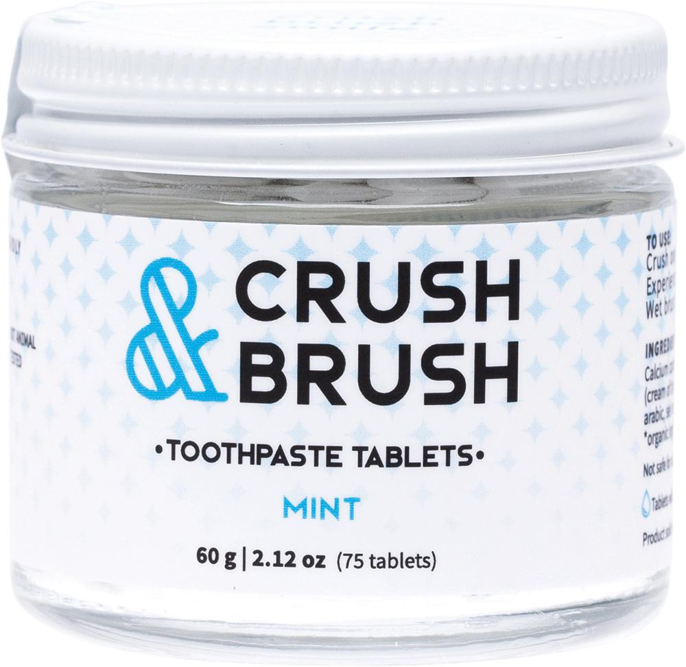 Nelson Naturals Inc. Crush & Brush Toothpaste Tablets Mint