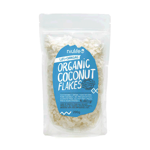 NIULIFE Flaked Coconut  200g
