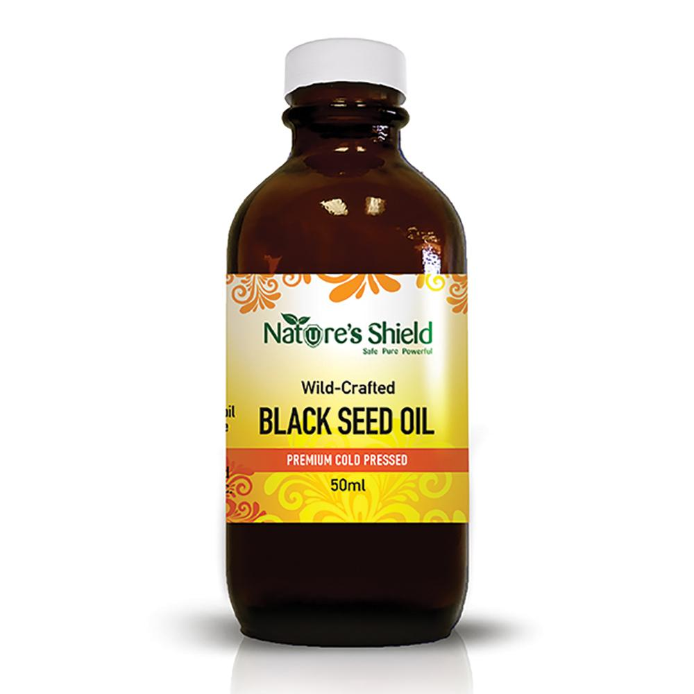 NATURE'S SHIELD Wild Crafted Black Seed Oil 50ml
