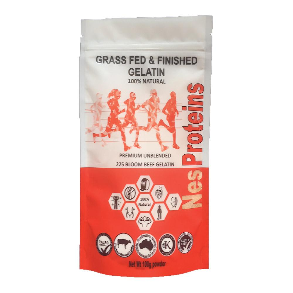 NES PROTEINS Grass Fed Beef Gelatin 100g