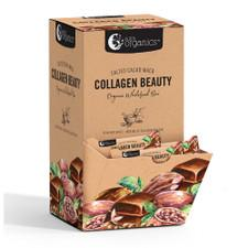 NUTRA ORGANICS Organic Wholefood Bars Collagen Beauty Salted Cacao Maca 30g x 30 Display