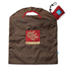 ONYA Reusable Shopping Bag Olive Red Tree Large