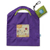 ONYA Reusable Shopping Bag Purple Garden (Small)