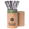 EVER ECO Stainless Steel Straws- Straight Counter Display 25