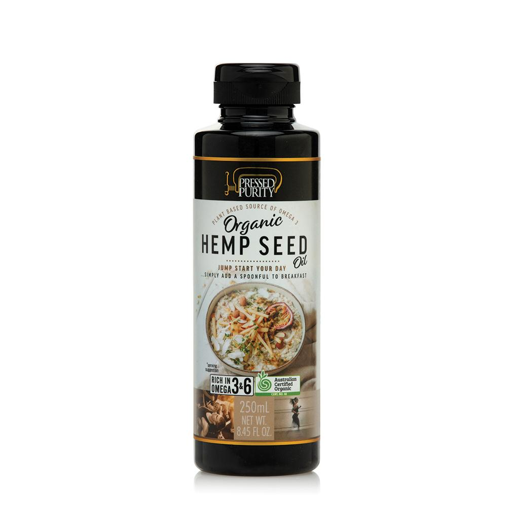 PRESSED PURITY Organic Hempseed Oil 250ml