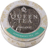 QUEEN TEA Organic Peppermint Tea Tin 20g