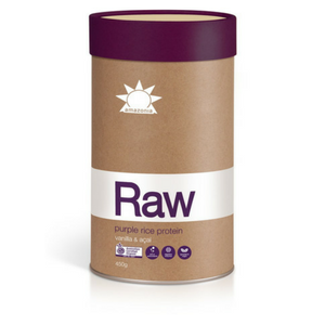 AMAZONIA - RAW Purple Rice Protein Vanilla & Acai 900g