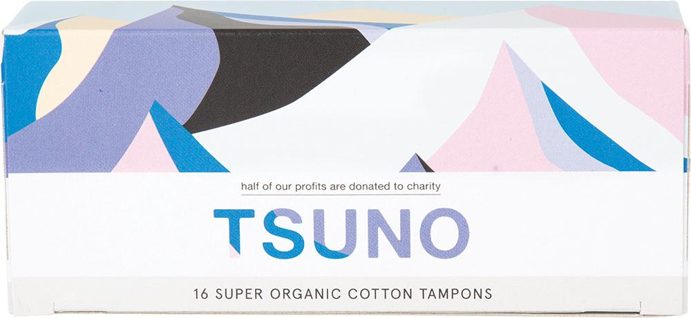 Tsuno Organic Cotton Tampons Super