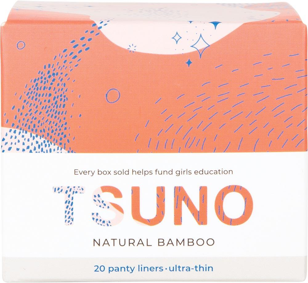 Tsuno Natural Bamboo Panty Liners Ultra-Thin