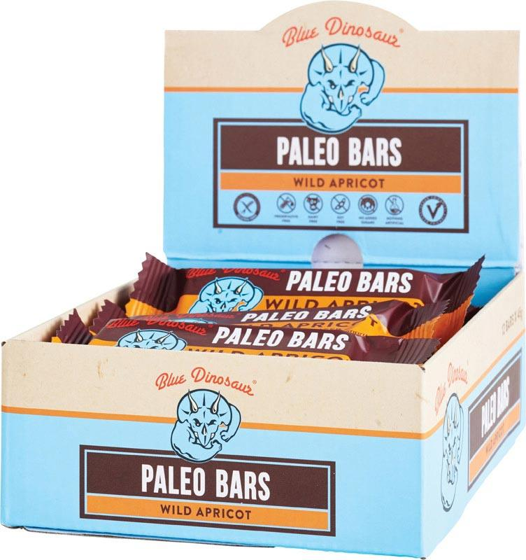 BLUE DINOSAUR Paleo Bars Wild Apricot - Box of 12 12x45g
