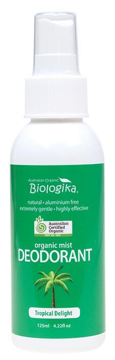 BIOLOGIKA Deodorant Spray Tropical Delight 125ml