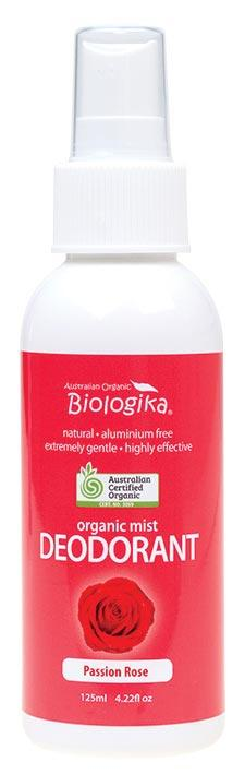 BIOLOGIKA Deodorant Spray Passion Rose 125ml