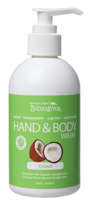 BIOLOGIKA Hand & Body Wash Coconut 250ml