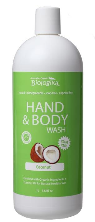 BIOLOGIKA Hand & Body Wash Coconut 1L
