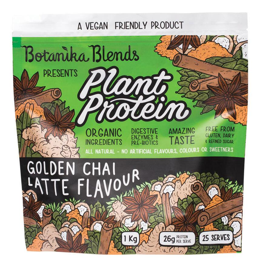 BOTANIKA BLENDS Plant Protein Golden Chai Latte 1kg