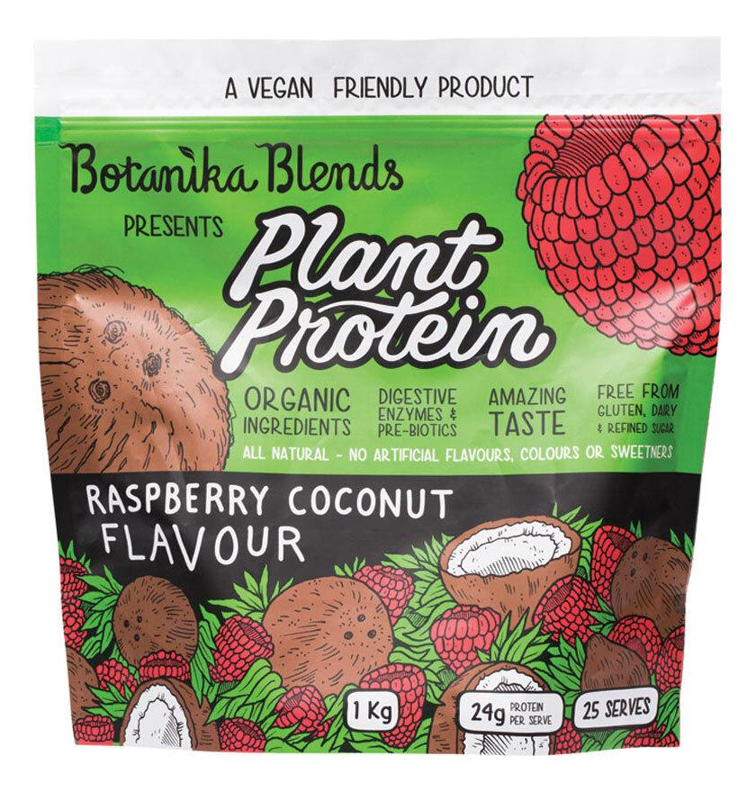 BOTANIKA BLENDS Plant Protein Raspberry Coconut 1kg
