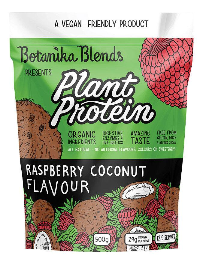 BOTANIKA BLENDS Plant Protein Raspberry Coconut 500g