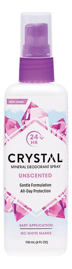 CRYSTAL Deodorant Spray Fragrance Free 118ml