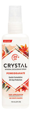 CRYSTAL ESSENCE Deodorant Spray Pomegranate 118ml