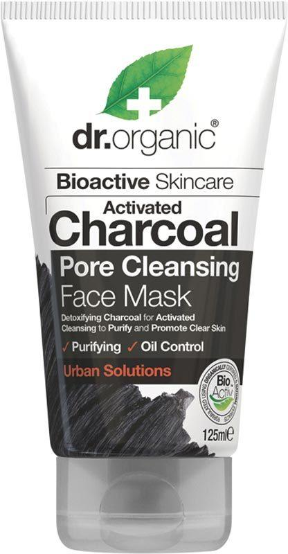 DR ORGANIC Face Mask Activated Charcoal 125ml
